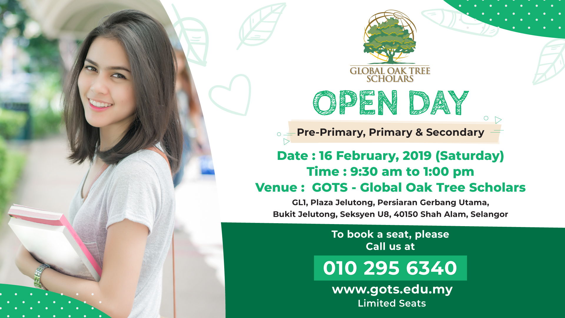 GOTs Open Day February 16